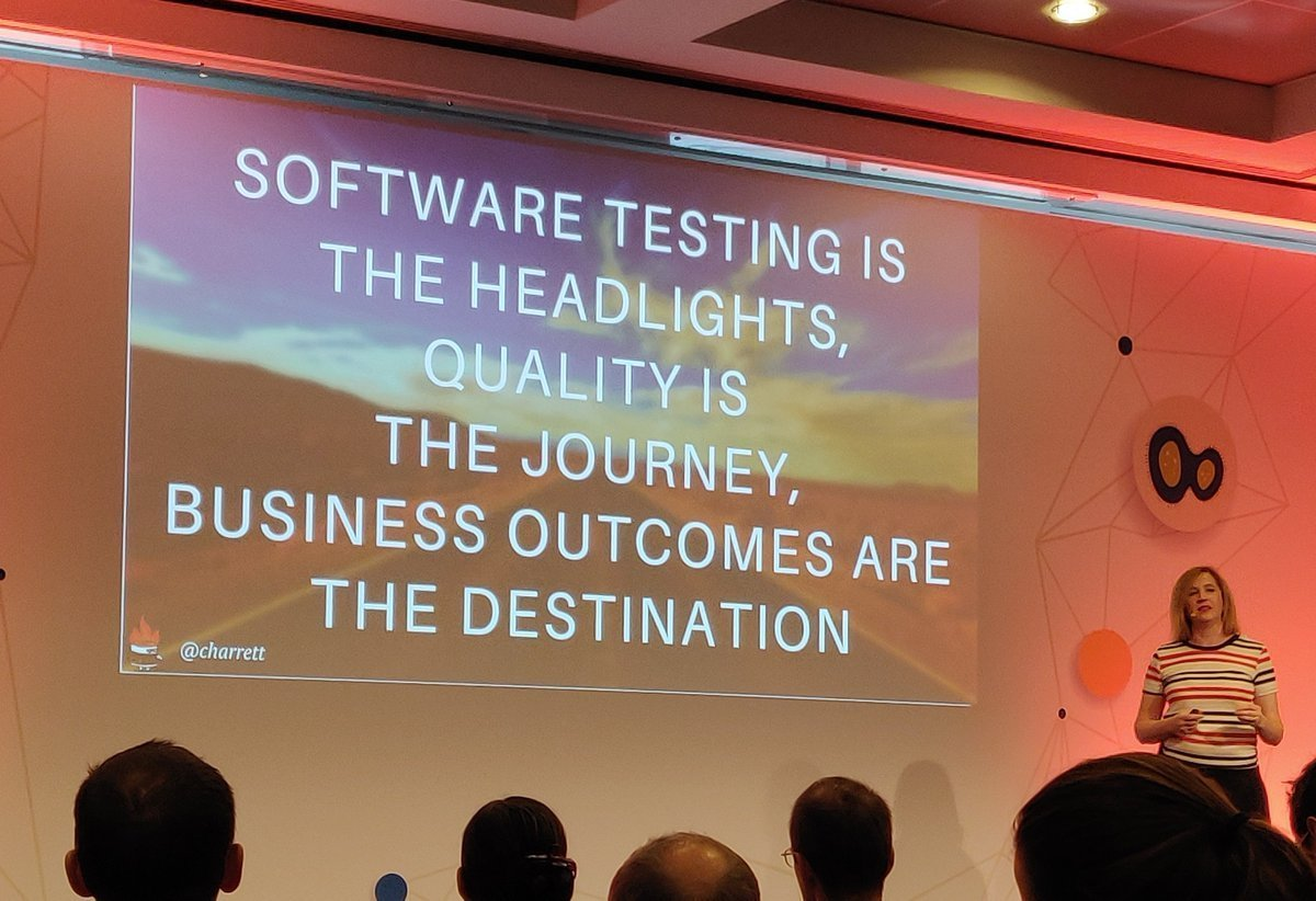 Business outcomes are the destination